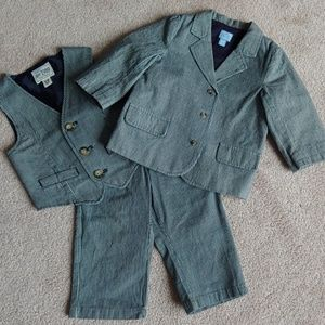 3pc 🐣 Easter Suit Toddler Boy 12-18 Months